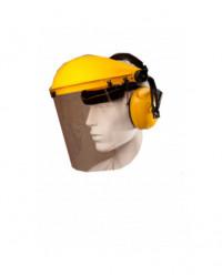 Ansigtsskærm med høreværn