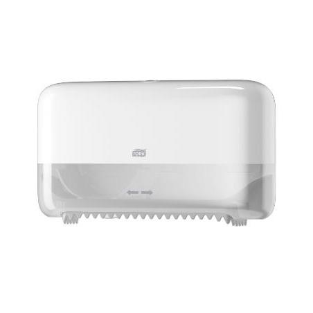 Tork T7 MidSize Twin dispenser, Hvid (558040)