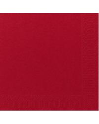 Serviet 2-lags 24 x 24 cm, Rød