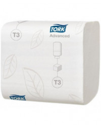 Tork T3 Advance, Foldet toiletpapir i ark (114271)