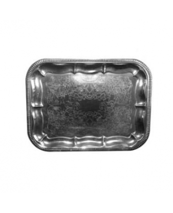 Serveringsfad / alufad /sølvblik 31 x...