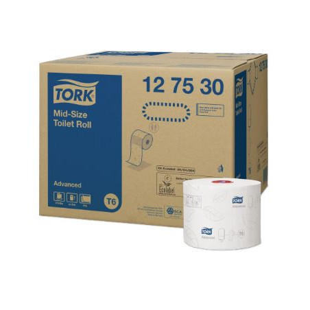 Tork T6 Advance Toiletpapir (127530)