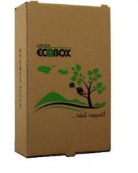 Pizzaæske Calzone, Ecobox, Brun, 100 stk