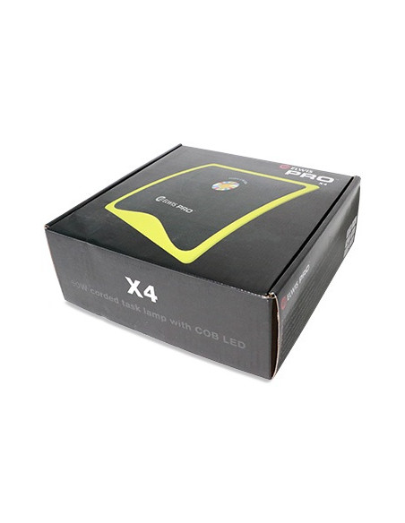 Elwis X4 arbejdslampe med ledning, COB LED