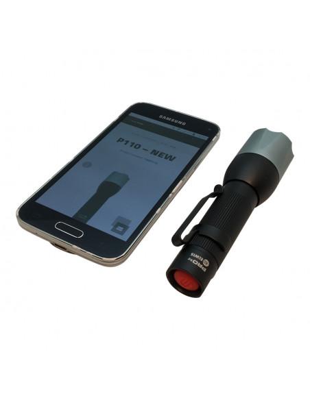 Elwis P110 Lommelygte med batteri