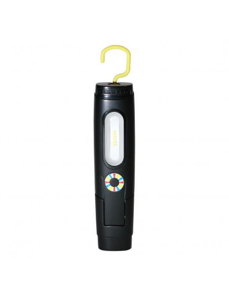 Elwis D2 Genopladelig arbejdslampe med 2 lysstyrker