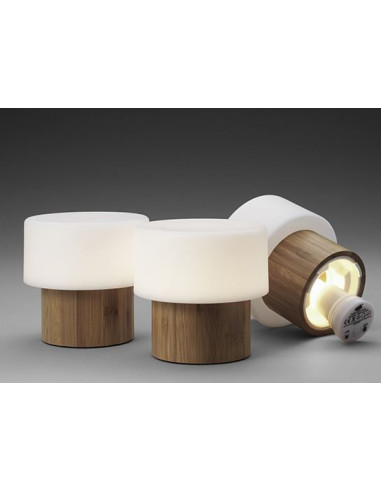 Duni Good Concept LED-stage Sister, Bamboo, 4 stk