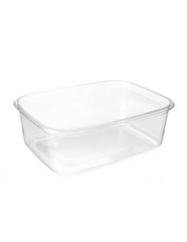 Salatbæger/plastbøtte 500 ml, 600 stk PET