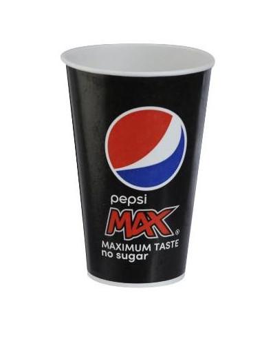 Pepsi Max bæger 80 cl, 500 stk