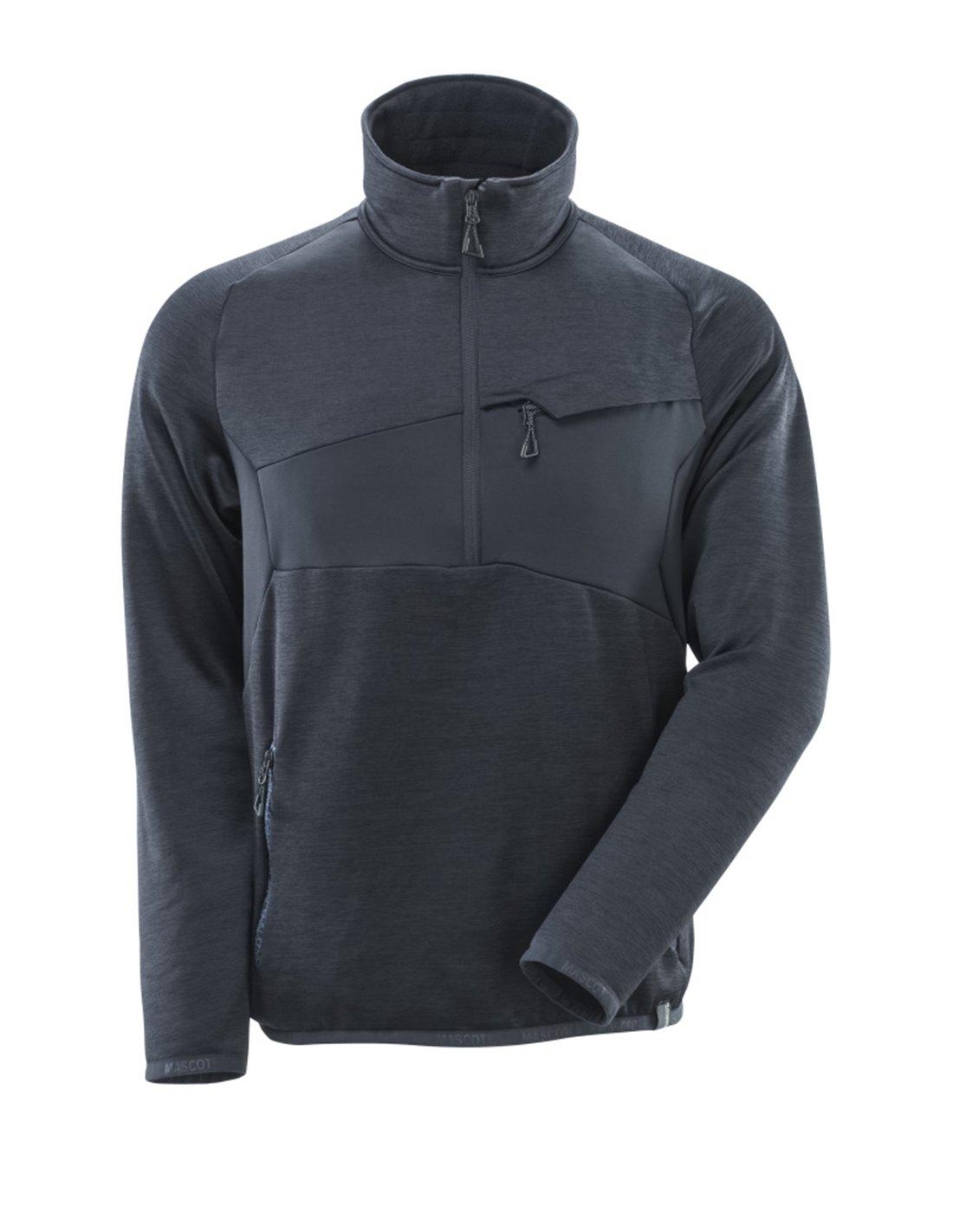 MASCOT® Fleecetrøje med kort lynlås ACCELERATE Køb online her