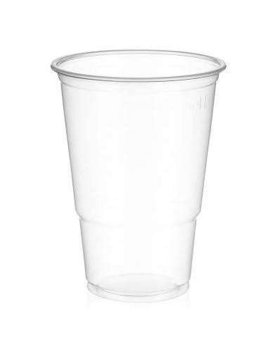 Plastglas blød, 50 cl, 800 stk