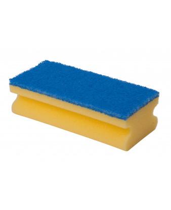 Håndtagssvamp Blå 7x15x5 cm.