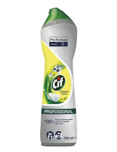 CIF Skurecreme Citron, 8 x 750 ml