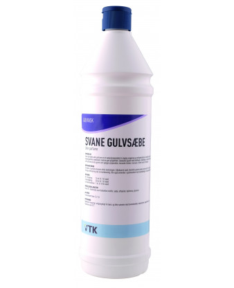 Svane Gulvsæbe uden parfume, 1 liter