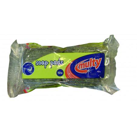 Soap Pads Stålsvampe 10 stk