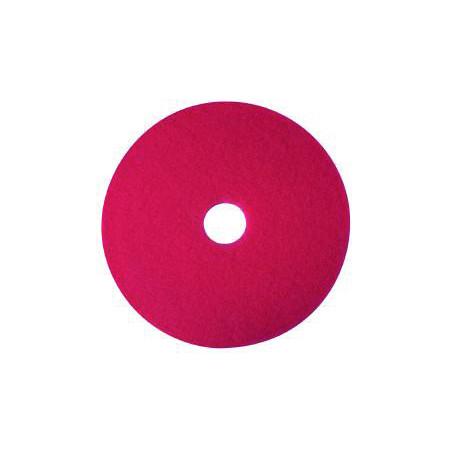 "Superpad rondel rød 17"""