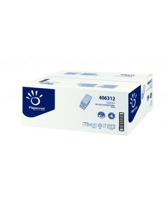 Håndklædeark W-fold Hvid 3 lag 2300 ark