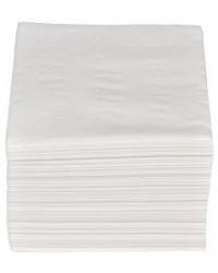 Serviet 2-lags 24 x 24 cm, Hvid