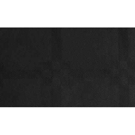 Rulledug damask Sort 118 x 5000 cm