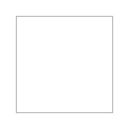 Serviet 1-lags 32 x 32 cm, Hvid