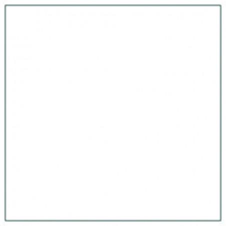 Stikdug 60x70cm glat, hvid
