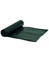Plastsæk Sort 70x110cm,100 liter, 10 ruller