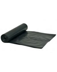Plastsæk Sort 70x110cm, 45my, 100 liter, 20 ruller