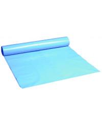 Plastsæk blå 76x103cm 60my 120 liter, 15 ruller