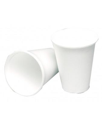 Termobæger hvid skum 10cl. 4oz