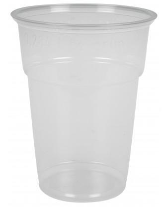 Plastglas blød, 25 cl.
