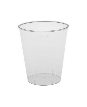 Plastglas hård, 25 cl.