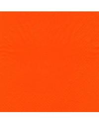 Serviet 2-lags 33 x 33 cm, Orange