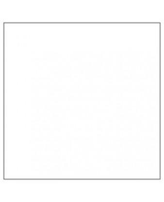 Serviet 2-lags 40 x 40 cm, Hvid  (1/8 foldet)