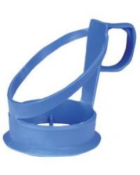 Kopholder til engangskrus blå