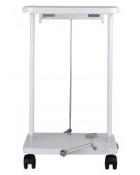 Sækko-Boy med låg og pedal 40 liter, Hvid