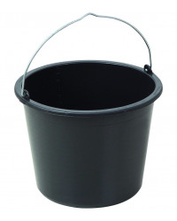 Sort spand til spandeholder 12 liter