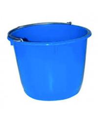 Spand med metalhank Blå 10 liter