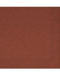 Serviet 3-lags 40 x 40 cm, Chestnut, 1000 stk