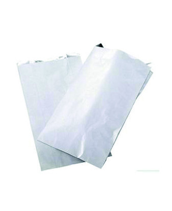 Grillpose hvid neutral med alu 250 stk