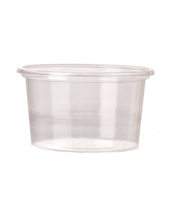 Dressingbæger/portionsbæger 80 ml, 3000 stk A-PET