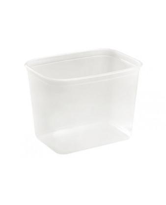 Salatbæger/plastbøtte 1000 ml, 600 stk PET