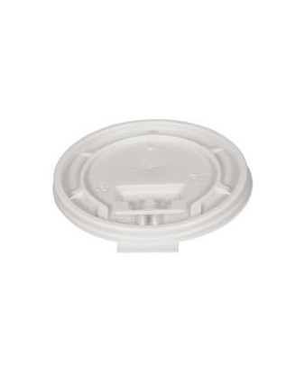 Plastlåg til termobægre, 30 cl. 1000 stk