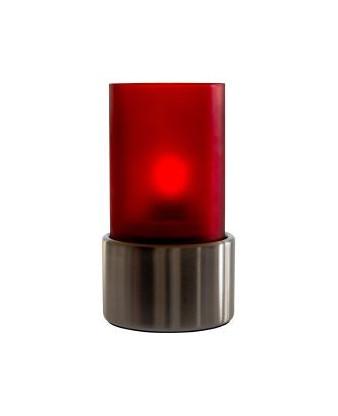 Top til olielampe Star Rød 6 stk