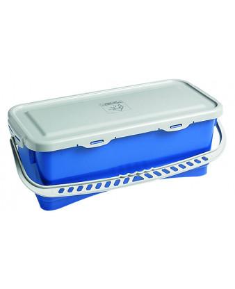 Mopboks 10 liter blå inkl. låg