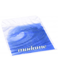 Madameposer med bølgemotiv, 25x36cm 5 liter, 100 stk
