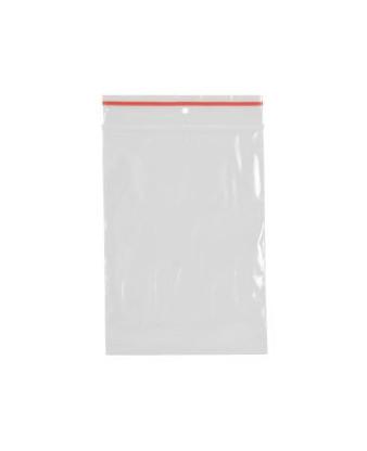 Lynlåspose klar plast, 10 x 15 cm, 200 stk