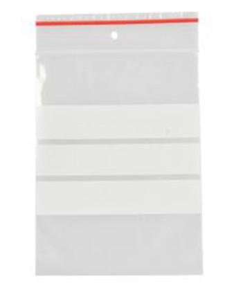Lynlåspose 6 x 8 cm, med skrivefelt, 200 stk
