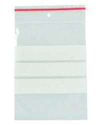 Lynlåspose 12 x 18 cm, med skrivefelt, 100 stk