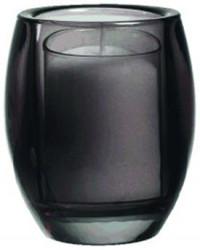 Glasstage til refill, Sort, 4 stk