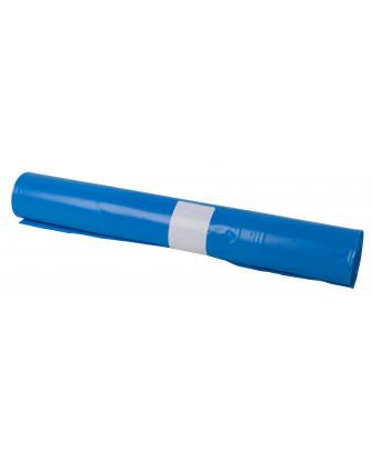 Plastsæk Blå 55x103 cm 60 my 60 liter 15 ruller